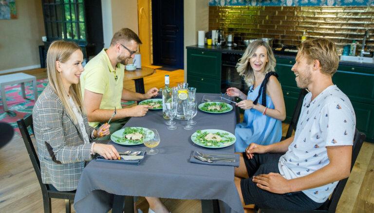 TV ekrānos atgriežas šovs 'Gandrīz ideālas vakariņas'
