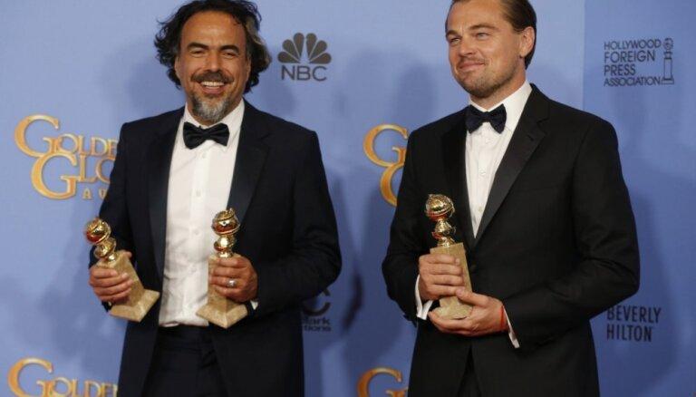 'Zelta globusu' ceremonijā triumfē 'Cilvēks, kurš izdzīvoja' un Leonardo Dikaprio