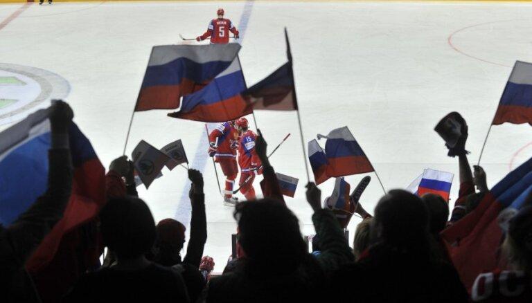 Krievijas izlases ārsts neapmierināts ar attieksmi pret pasaules čempioniem