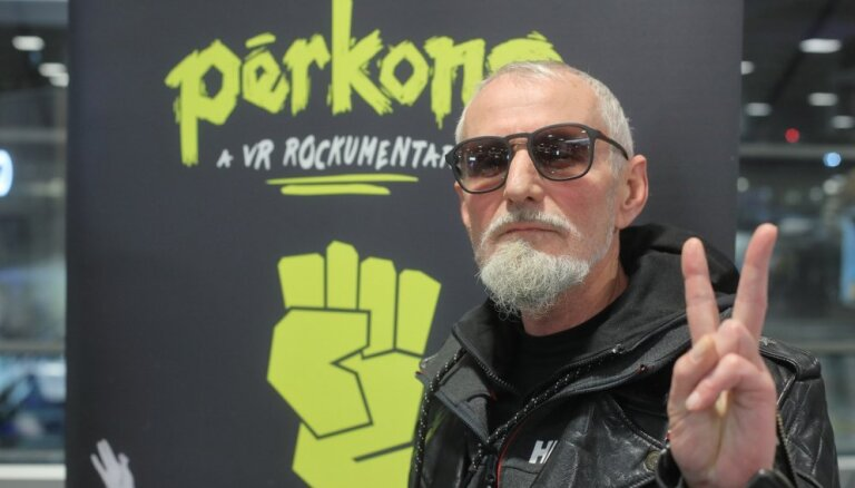 Foto: Filmas 'Pērkons. A VR Rockumentary' pirmizrādes Ņujorkā iesildīšanas ballīte Rīgas lidostā