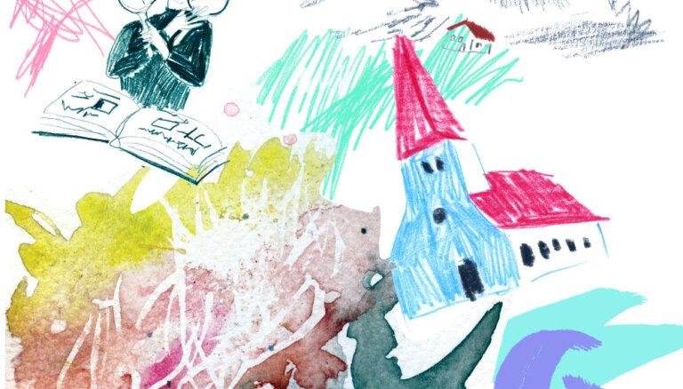 Raiņa un Aspazijas mājā ģimenes varēs veidot mākslinieciskas kolāžas