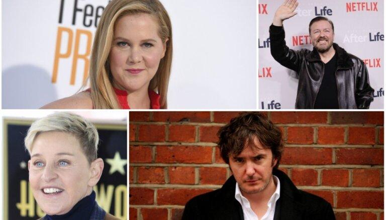 Nešpetni, skandalozi un asprātīgi. 10 slaveni 'stand up' komiķi, kas jāzina ikvienam