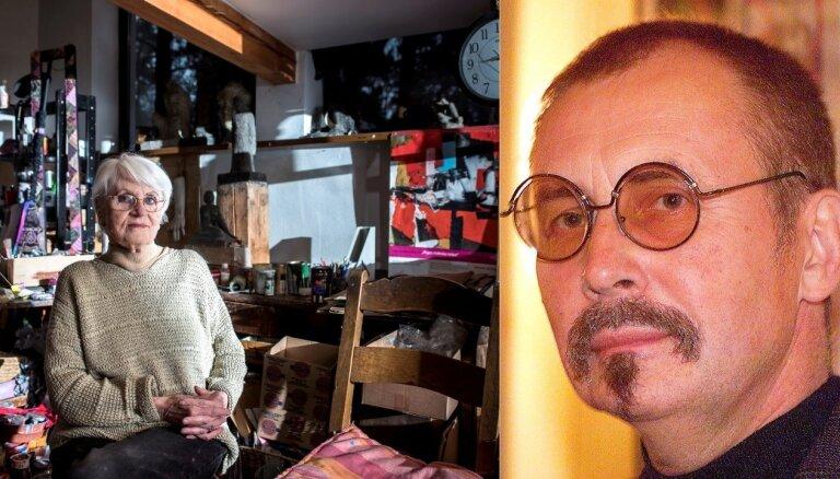 Džemmas Skulmes mantinieki iztiek, pārdodot mammas gleznas