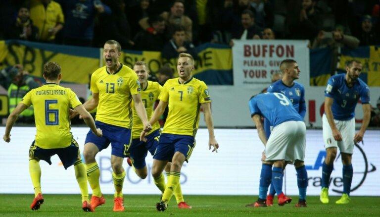 Италия впервые за 60 лет не вышла на чемпионат мира по футболу, Буффон завершил карьеру
