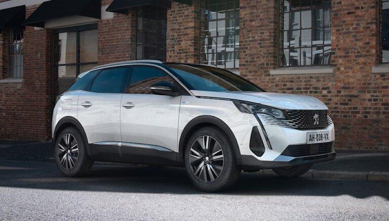 'Peugeot 3008' modelis saražots jau vairāk nekā 800 tūkstošos eksemplāru