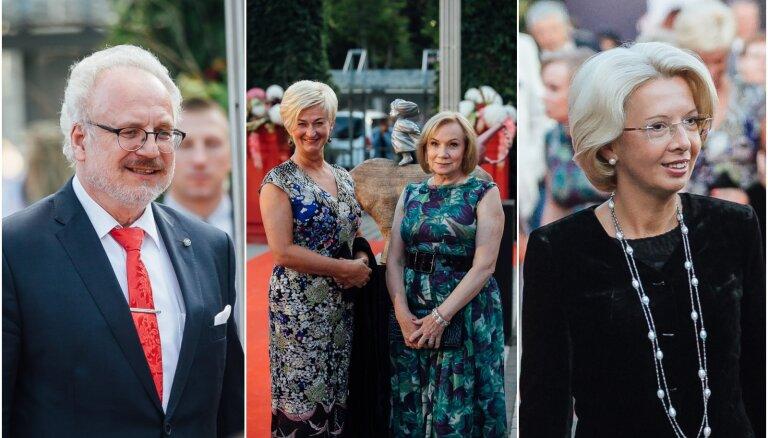 Foto: Kā posās Galantes festivāla kulminācijas prominentie viesi