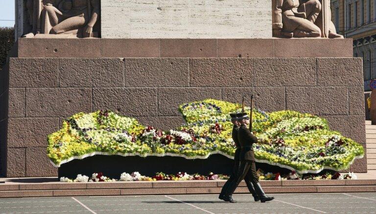 Латвия отмечает 31-ю годовщину восстановления независимости (+ФОТО)