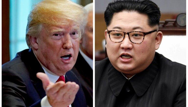 Tramps: Ziemeļkorejas jautājuma risināšanā netiks izmantots 'Lībijas modelis'