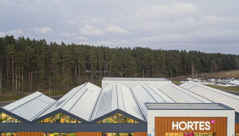 Veikala 'Hortes' izveidē investēti 6,5 miljoni eiro