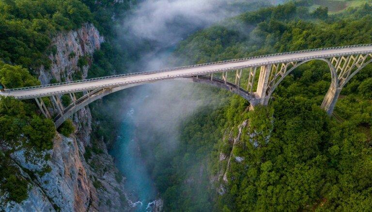 Taras upes kanjons – brīnumains galamērķis Melnkalnē