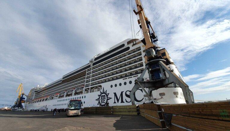 Foto: Kā izskatās uz kruīza kuģa 'MSC Poesia'