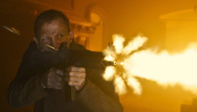 Latvijas kino sāk izrādīt jauno Bonda filmu