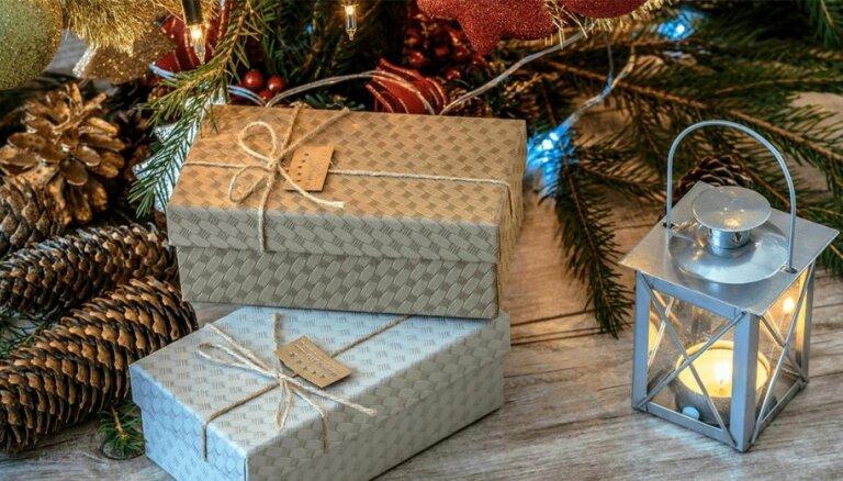Uzdāvini Ziemassvētkos patīkamu un lietderīgu dāvanu