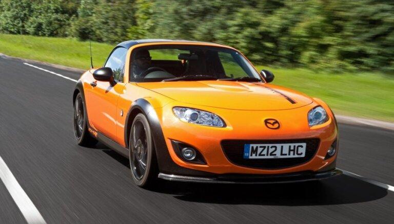 Новые модели Mazda получат задний привод