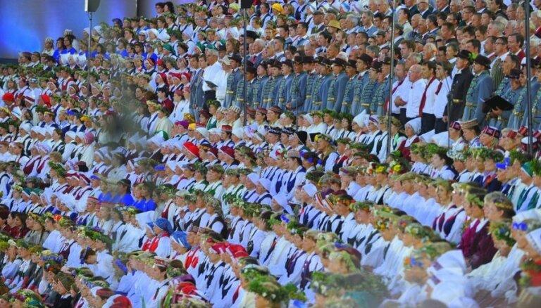 Дирижер: ритуал очищения латышского духа успешно завершился