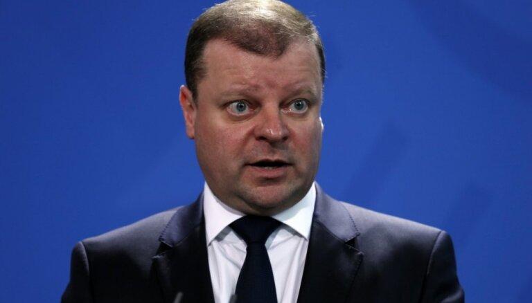 Premjers: Lietuva cer, ka Baltkrievijai neizdosies līdz galam īstenot Astravjecas AES projektu