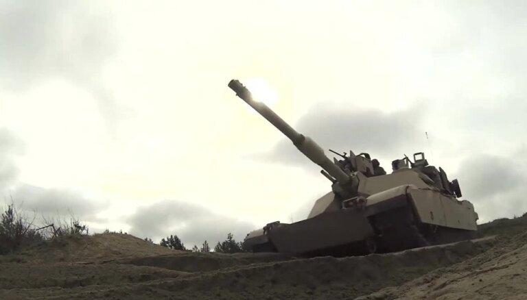 ASV Eiropas militārās stratēģijas jaunā prioritāte - 'Krievijas agresijas atturēšana'