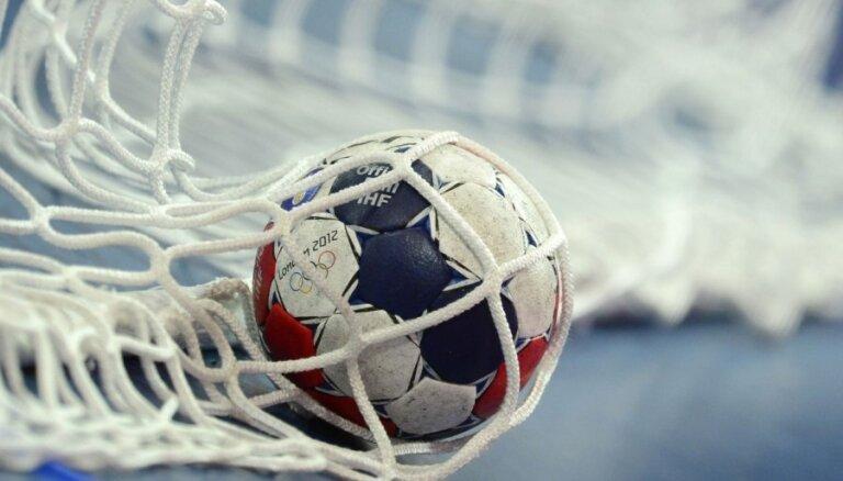 Latvijas U-20 handbola izlase pārbaudes spēlē piekāpjas Igaunijai