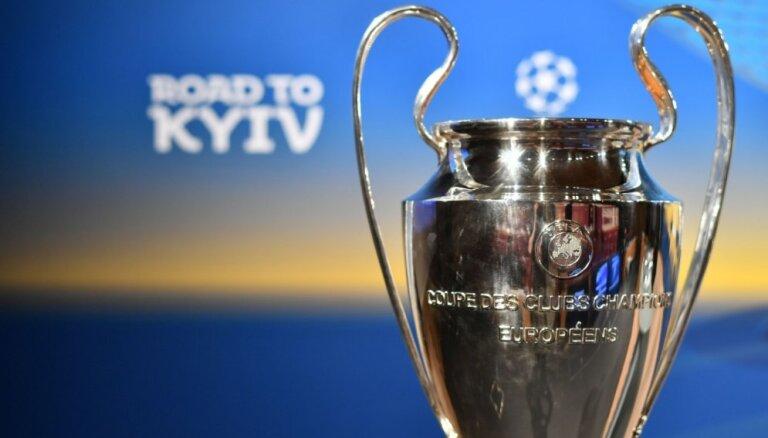 Izlozēti UEFA Čempionu līgas pusfināla pāri