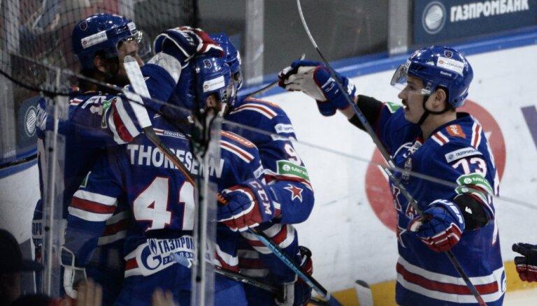 ВИДЕО: Питерский СКА впервые выиграл Кубок Гагарина