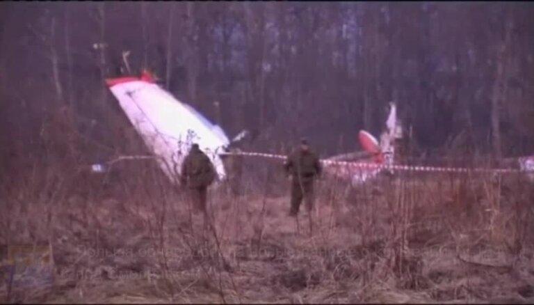 Польша обнародовала новые данные о крушении Ту-154 под Смоленском