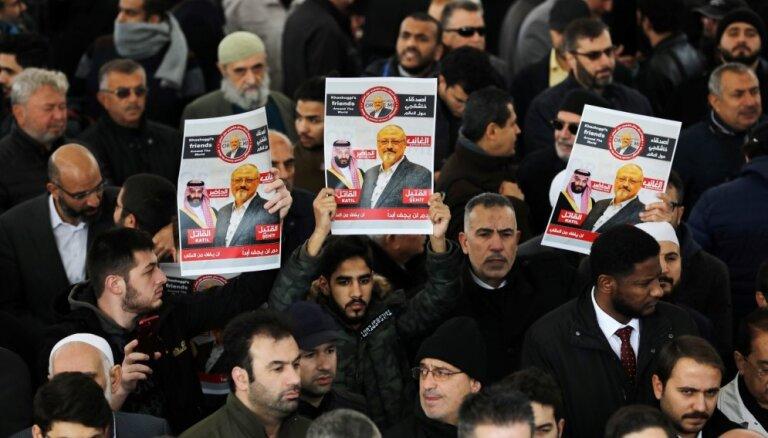 Hašogi ķermenis no Turcijas varētu būt izvests diplomātiskajos koferos, paziņo ministrs