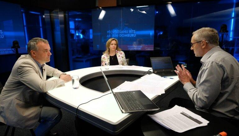 'Pēcvēlēšanu rīts ar Jāni Domburu': ekspertu un reģionālo politiķu diskusija