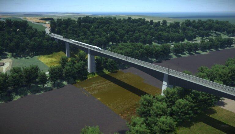 Apvienotā tilta būvniecība pār Daugavu varētu izmaksāt 199 miljonus eiro