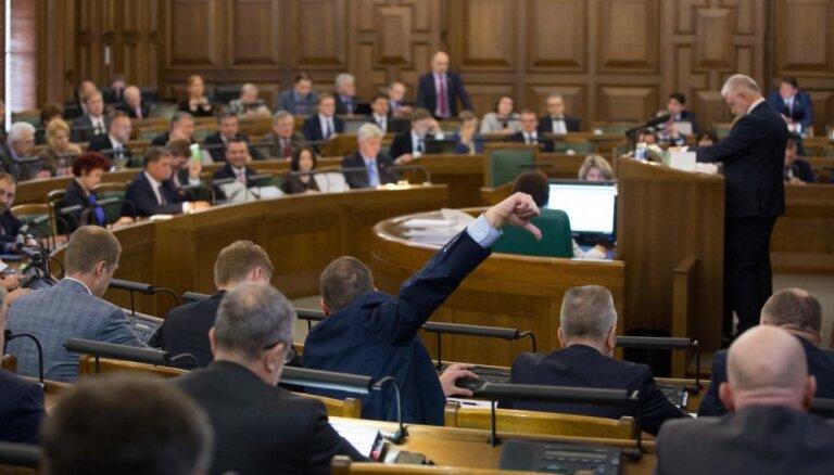 Дебаты в Сейме затянулись; рассмотрение бюджета продолжат в четверг