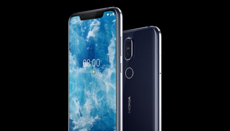 'Nokia' prezentējusi savu jaunāko viedtālruni '8.1'