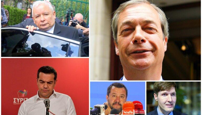Cīņa par Eiropu: Kuri ir lielākie vēlēšanu ieguvēji un zaudētāji