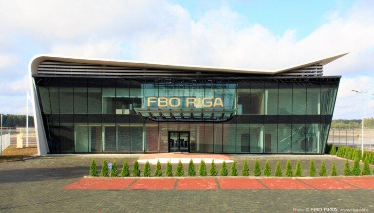 ФОТО: в Рижском аэропорту открылся центр бизнес-авиации