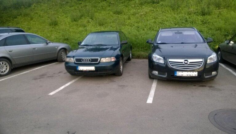 Latvijas autovadītāju parkošanās prasmes vērtē kā nepietiekamas