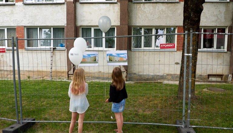 В Елгаве, Огре, Саласпилсе и Каугури заметно подорожали квартиры в серийных проектах