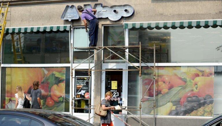 Foto: 'Mego' veikali sāk 'izdzēst' iegādātos IKI