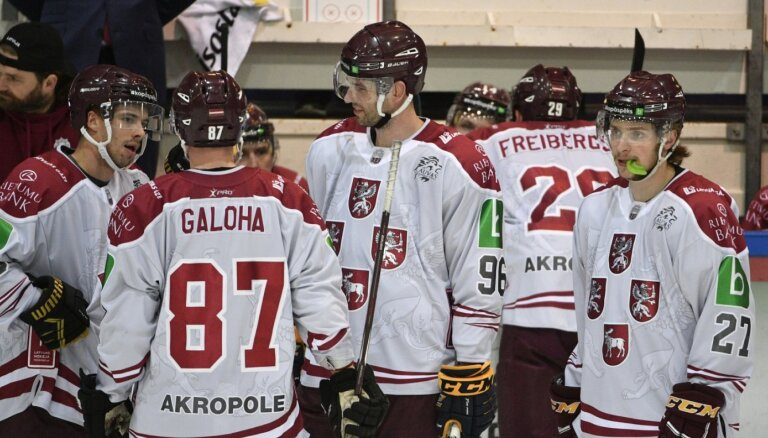 Latvijas hokejistiem neizdodas uzvarēt turnīrā Liepājā
