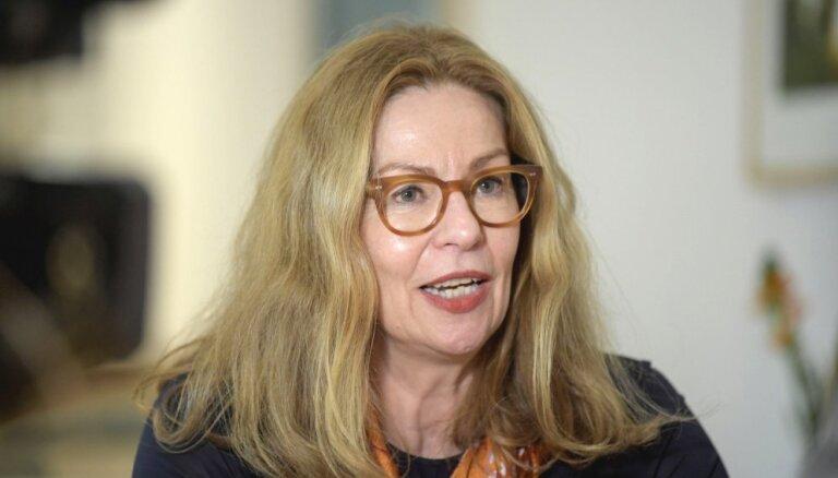 No amata atbrīvota 'Swedbank' grupas vadītāja Birgita Bonnesena
