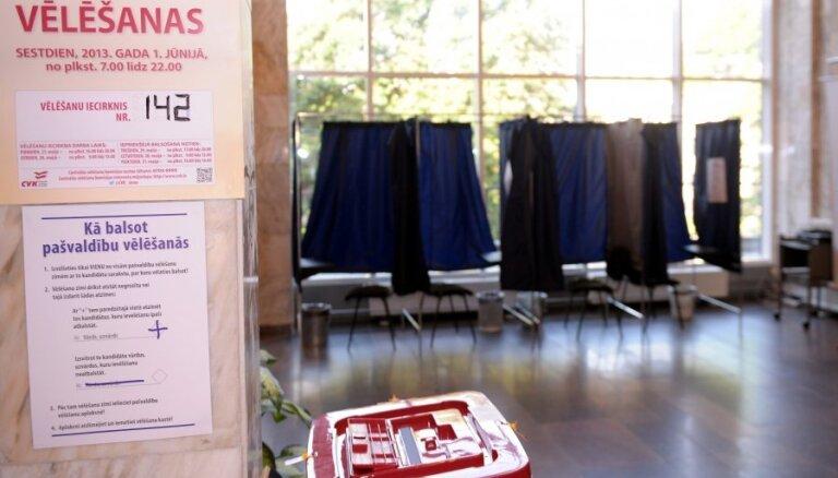 Раймонд Круминьш. Наблюдения в день выборов в Риге