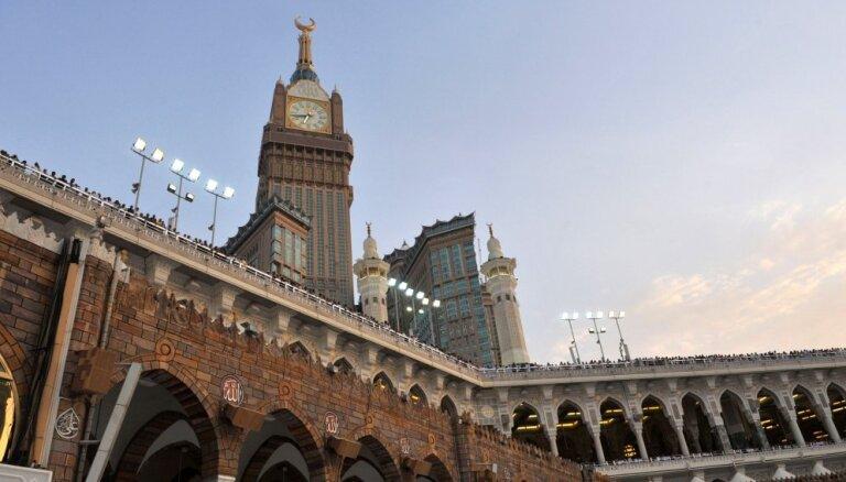 Šogad svētceļojumā uz Meku varēs piedalīties tikai neliels skaits cilvēku