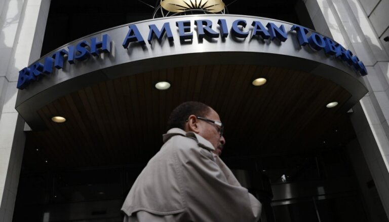 'British American Tobacco' par 49,4 miljardiem dolāru pārņems 'Reynolds American'