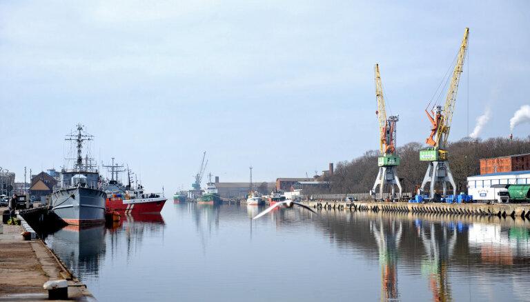 Грузооборот Лиепайского порта за девять месяцев вырос на 8%