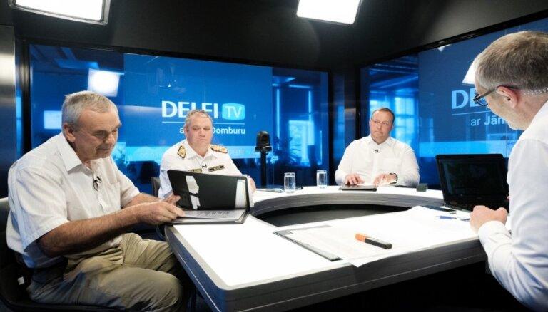 'Delfi TV ar Jāni Domburu' – atbild iekšlietu ministrs, VUGD un VMD vadītāji