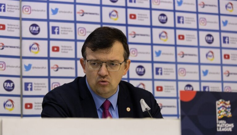 Kazakevičs: laukumā redzētais apliecināja atšķirības abu komandu meistarībā