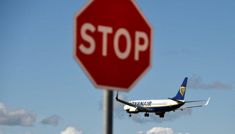 'Drošība pirmajā vietā' – par ierobežojumiem aviosatiksmē ar Baltkrieviju saka Linkaits