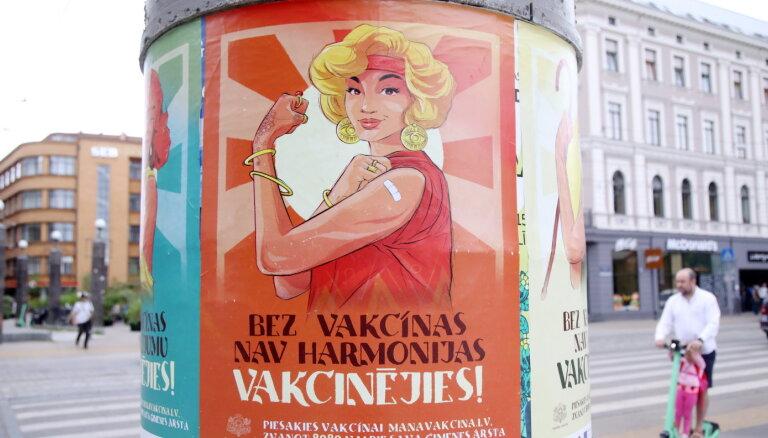 Latvijā reģistrēti 542 jauni Covid-19 saslimšanas gadījumi; pieci cilvēki miruši