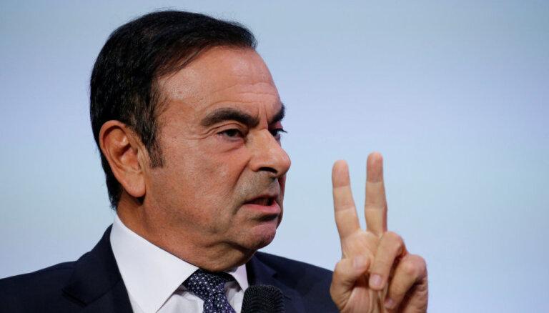 Gosns rīkojis 260 tūkstoš dolāru vērtu izklaides pasākumu Brazīlijā un rēķinu izrakstījis 'Renault-Nissan'