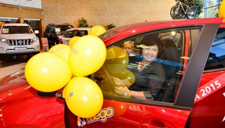 Mego, Vesko un Mini Vesko Lielā vasaras loterijas balvas atradušas īpašniekus
