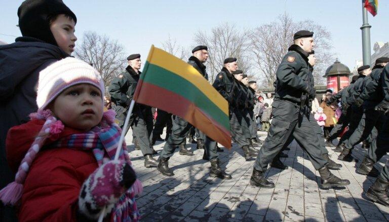 Lietuva sākusi izstrādāt visaptverošu valsts aizsardzības plānu