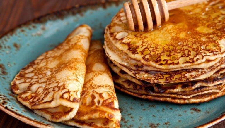 30 pankūku receptes no visas pasaules debešķīgi gardam mielastam