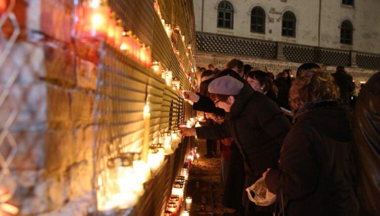 Идея с сеткой для свечей оказалась удачной: на следующий день Лачплесиса зону расширят